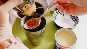 Đam Mê Ẩm Thực Cho-Nước-trà-lipton-1-2-tbsp-Sữa-đặc-1-2-tbsp-Mật-ong3-dammeamthuc.com_