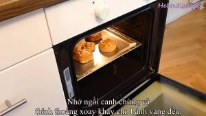 Đam Mê Ẩm Thực Cho-bánh-vào-lò-và-nướng-thêm-5-10-phút-dammeamthuc.com_
