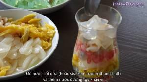 Đam Mê Ẩm Thực Cho-lần-lượt-các-loại-Hoa-quả-Thạch-Hạt-lựu-Nước-cốt-dừa-Nước-đường-tùy-thích-và-Đá-xay3-dammeamthuc.com_