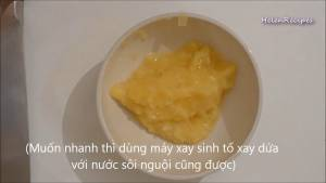 Đam Mê Ẩm Thực Dứa-Thơm-băm-nhuyễn-và-cho-vào-bát3-dammeamthuc.com_