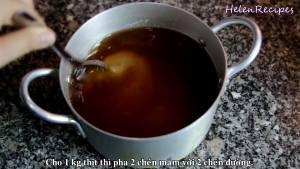 Đam Mê Ẩm Thực Pha-mắm-Cho-2-cup-Nước-mắm-2-cup-Đường-vào-nồi-và-khuấy-đều-pha-theo-tỉ-lệ-1-Nước-mắm-1-Đường2-1