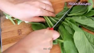 Đam Mê Ẩm Thực Rau-cải-rửa-sạch-và-cắt-đoạn