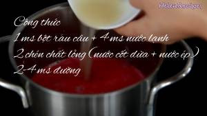 Đam Mê Ẩm Thực Sau-15-phút-cho-hỗn-hợp-Bột-rau-câu-1-cup-Nước-ép-trái-cây-tùy-thích-màu-sắc2-dammeamthuc.com_
