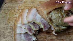 Đam Mê Ẩm Thực Sau-3-ngày-cho-thịt-heo-ra-thái-từng-miếng-vừa-ăn.-Dùng-kèm-với-Nước-mắm-chanh-tỏi-ớt-Bánh-đa-nem-bánh-tráng-và-thêm-vài-cốc-bia2