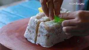 Đam Mê Ẩm Thực Sau-khi-đã-đông-chia-kem-thành-từng-miếng-vừa-ăn-và-hoàn-thành5-dammeamthuc.com_