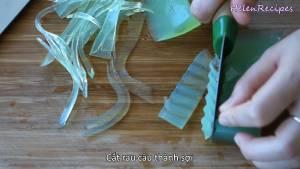 Đam Mê Ẩm Thực Sau-khi-đông-thái-Thạch-rau-câu-thành-từng-sợi-nhỏ-dammeamthuc.com_