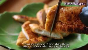 Đam Mê Ẩm Thực Sau-khi-nướng-xong-cắt-bánh-mì-thành-từng-miếng-vừa-ăn-dammeamthuc.com_