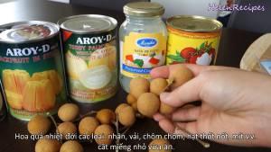 Đam Mê Ẩm Thực Thái-lát-nhỏ-trái-cây-NhãnVải-Thốt-nốt-Mít-dammeamthuc.com_