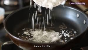 Đam Mê Ẩm Thực Thêm-100g-Dừa-bào-nhỏ-50g-Đường-nâu-1-2-tbsp-Nước-lọc-dammeamthuc.com_