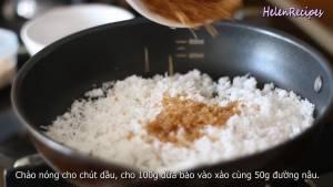 Đam Mê Ẩm Thực Thêm-100g-Dừa-bào-nhỏ-50g-Đường-nâu-1-2-tbsp-Nước-lọc2-dammeamthuc.com_