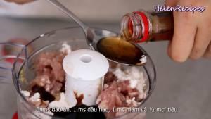 Đam Mê Ẩm Thực Thêm-250g-Thịt-lợn-băm-hoặc-xay-nhuyễn-150g-Tôm-loại-bỏ-vỏ-và-chỉ-lưng-1-tbsp-Bột-năng-1-tbsp-Dầu-ăn-1-tbsp-Dầu-hào-1-tbsp-Nước-mắm-12-tsp-Tiêu-và-xay-nhuyễn6