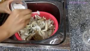 Đam Mê Ẩm Thực 200g-Nấm-Bào-ngư-rửa-sạch-với-Nước-muối-dammeamthuc.com_