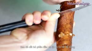 Đam Mê Ẩm Thực 500g-Khoai-mì-Sắn-rửa-sạch-khứa-1-đường-xoắn-ốc-quanh-củ-Khoai-mì-dammeamthuc.com_