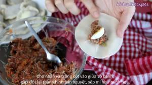 Đam Mê Ẩm Thực Cho-1-tsp-Nhân-thịt-Trứng-cút-vào-giữa-vỏ-Bánh5-dammeamthuc.com_