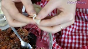 Đam Mê Ẩm Thực Cho-1-tsp-Nhân-thịt-Trứng-cút-vào-giữa-vỏ-Bánh8-dammeamthuc.com_