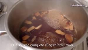 Đam Mê Ẩm Thực Cho-12-cup-Đường-Nâu-1-cup-Nước-vào-nồi3-dammeamthuc.com_