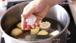 Đam Mê Ẩm Thực Cho-4-lít-Nước-các-loại-rau-củ-1-viên-Đường-Phè3-dammeamthuc.com_
