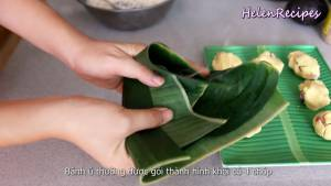 Đam Mê Ẩm Thực Gói-bánh-theo-hình-chóp2-dammeamthuc.com_
