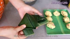 Đam Mê Ẩm Thực Gói-bánh-theo-hình-chóp3-dammeamthuc.com_