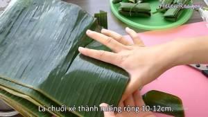 Đam Mê Ẩm Thực Lá-Chuối-xé-cỡ-10-12cm-xe-thêm-vài-sợi-mỏng-để-buộc-Bánh-dammeamthuc.com_