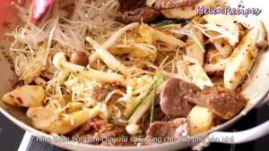 Đam Mê Ẩm Thực Sau-1-2-phút-thêm-các-loại-Nấm-vào-đảo-thêm-vài-phút-cho-đến-khi-chín4-dammeamthuc.com_