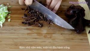 Đam Mê Ẩm Thực Sau-khi-ngâm-xong-Mộc-nhĩ-Miến-2-tbsp-Hành-tím-dammeamthuc.com_