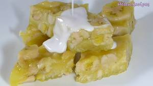 Đam Mê Ẩm Thực Sau-khi-nguội-hẳn-cho-Bánh-ra-đĩa-rồi-chia-bánh-thành-từng-miếng-nhỏ-vừa-ăn3-dammeamthuc.com_