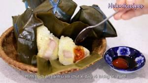 Đam Mê Ẩm Thực Sau-khi-ráo-nước-bóc-bánh-và-dùng-kèm-với-Nước-tương-pha-tương-ớt3-dammeamthuc.com_