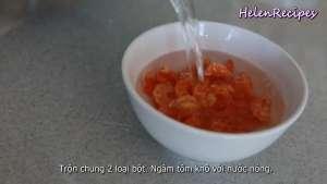 Đam Mê Ẩm Thực Tôm-khô-ngâm-nước-nóng-cho-nở-dammeamthuc.com_