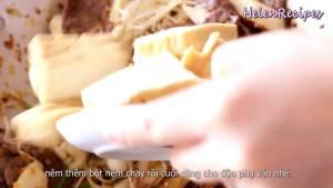 Đam Mê Ẩm Thực Thêm-Đậu-phụ-chiên-và-đảo-nhẹ-tay-tránh-làm-Đậu-nát-cho-đến-khi-quyện-đều-rồi-tắt-bếp-dammeamthuc.com_