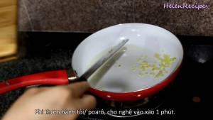 Đam Mê Ẩm Thực Thêm-1-tsp-Tỏi-băm-nhỏ-vào-phi-thơm-trong-1-phút2-dammeamthuc.com_