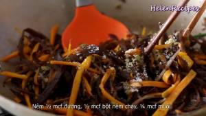 Đam Mê Ẩm Thực Thêm-Mộc-nhĩ-Nấm-mèo-thái-sợi-12-tsp-Đường-12-tsp-Bột-nêm-chay3-dammeamthuc.com_