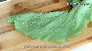 Đam Mê Ẩm Thực Trải-lá-Cải-xanh-để-mặt-gân-lá-lên-trên2-dammeamthuc.com_