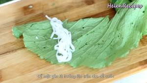 Đam Mê Ẩm Thực Trải-lá-Cải-xanh-để-mặt-gân-lá-lên-trên3-dammeamthuc.com_