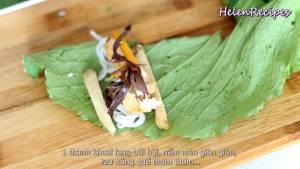 Đam Mê Ẩm Thực Trải-lá-Cải-xanh-để-mặt-gân-lá-lên-trên5-dammeamthuc.com_