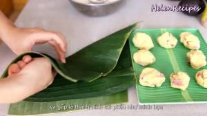 Đam Mê Ẩm Thực Xếp-chồng-2-miếng-lá-chuối-lên-với-nhau4-dammeamthuc.com_