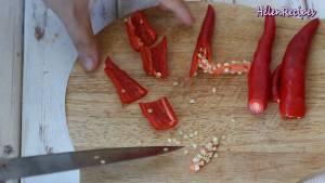 Đam Mê Ẩm Thực Ớt-chuông-đỏ-Cà-Chua-Ớt-cay-loại-bỏ-hạt-cắt-miếng-nhỏ8-dammeamthuc.com_