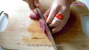 Đam Mê Ẩm Thực 500g-Thịt-Bò-cắt-lát-mỏng-ngang-thớ-cho-vào-bát-dammeamthuc.com_