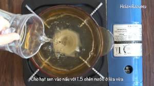 Đam Mê Ẩm Thực Cho-1-12-cup-Nước-150g-Hạt-Sen-tươi2-dammeamthuc.com_