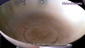 Đam Mê Ẩm Thực Cho-1-tbsp-Dầu-ăn-14-cup-Đường-vào-chảo-dammeamthuc.com_