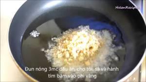 Đam Mê Ẩm Thực Cho-1-tbsp-Tỏi-băm-vào-3-tbsp-Dầu-ăn-nóng-dammeamthuc.com_