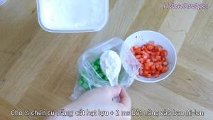 Đam Mê Ẩm Thực Cho-12-cup-củ-năng-2-tbsp-Bột-Năng-vào-bao-nilon-dammeamthuc.com_