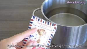 Đam Mê Ẩm Thực Cho-12g-Bột-rau-câu-1-lít-Nước-vào-nồi-dammeamthuc.com_
