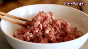 Đam Mê Ẩm Thực Cho-500g-thịt-Heo-băm-1-tbsp-Hành-tím-băm-dammeamthuc.com_
