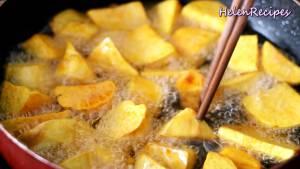 Đam Mê Ẩm Thực Sau-khi-Dầu-nóng-cho-từng-miếng-Khoai-Lang3-dammeamthuc.com_