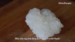 Đam Mê Ẩm Thực Sau-khi-hạt-sen-đã-mềm-cho-200g-Đường-phèn-vào-bao-nilon-dammeamthuc.com_