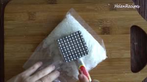 Đam Mê Ẩm Thực Sau-khi-hạt-sen-đã-mềm-cho-200g-Đường-phèn-vào-bao-nilon2-dammeamthuc.com_