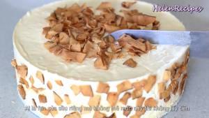 Đam Mê Ẩm Thực Sau-khi-lớp-kem-đã-đông-trang-trí-bánh-dừa-khô4-dammeamthuc.com_