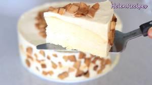 Đam Mê Ẩm Thực Sau-khi-lớp-kem-đã-đông-trang-trí-bánh-dừa-khô5-dammeamthuc.com_