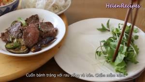 Đam Mê Ẩm Thực Thêm-Rau-thơm-bún-Thịt-Bò-cà-tím-đậu-bắp-dammeamthuc.com_